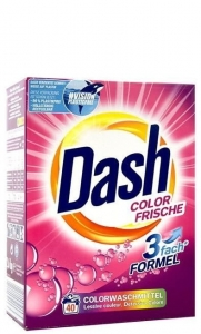 Dash Color Frische DE - 2,6kg - 40 prań - Proszek do koloru