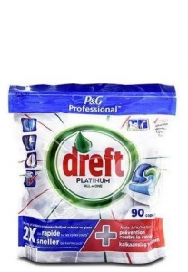 Dreft Platinum All in one Original - 90 szt. - Tabletki do zmywarki