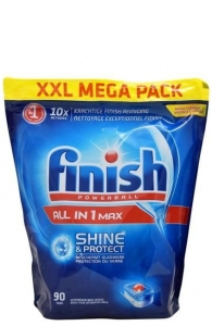 Finish All in one MAX Original - 90 szt. - Tabletki do zmywarki