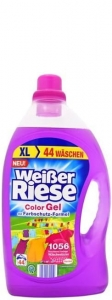 Weisser Riese Color Gel DE - 3,212l - 44 prania - Żel do koloru