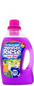Weisser Riese Color Gel DE - 1,46l - 20 prań - Żel do koloru