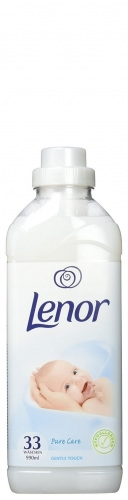 Lenor Hypoallergen - 990ml - 33 płukania - Pure Care  Gentle Touch (biały).jpg
