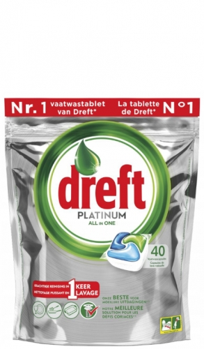 Dreft Platinum All in one Original - 40 szt. - Tabletki do zmywarki.png