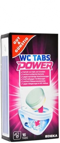 Gut&Gunstig Power WC-Tabs - 16 szt. - Tabletki na kamień do WC.jpg